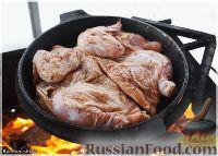 Фото приготовления рецепта: Цыплёнок таПака - шаг №14