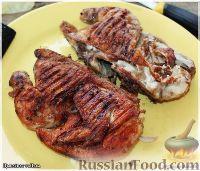 Фото приготовления рецепта: Цыплёнок таПака - шаг №17