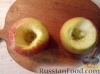 Фото приготовления рецепта: Яблоки, запеченные с медом - шаг №2