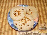 Фото приготовления рецепта: Лепешки по-домашнему - шаг №9