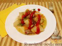 Фото к рецепту: Мясо с картофелем в горшочке