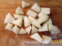 Фото приготовления рецепта: Мясо с картофелем в горшочке - шаг №7