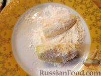Фото приготовления рецепта: Бананы и яблоки в карамели - шаг №3