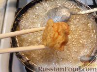Фото приготовления рецепта: Бананы и яблоки в карамели - шаг №10