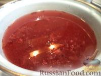 Фото приготовления рецепта: Морс клюквенный - шаг №4