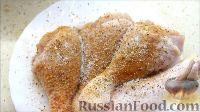Фото приготовления рецепта: Куриные ножки в хрустящей панировке - шаг №3