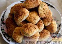 Фото к рецепту: Кокосовое печенье с имбирем