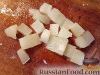 Фото приготовления рецепта: Салат из мяса курицы и ананасов - шаг №3
