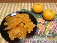 Фото к рецепту: Цукаты из мандаринов