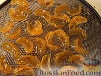 Фото приготовления рецепта: Цукаты из мандаринов - шаг №5