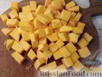 Фото приготовления рецепта: Тыква, запеченная с луком - шаг №2