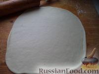Фото приготовления рецепта: Пирог с квашеной капустой - шаг №11