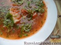 Фото к рецепту: Щи из свежей капусты с рыбой