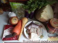 Фото приготовления рецепта: Щи из свежей капусты с рыбой - шаг №1
