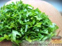 Фото приготовления рецепта: Щи из свежей капусты с рыбой - шаг №14