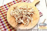 Фото приготовления рецепта: Салат из курицы, с ананасами и кукурузой - шаг №2