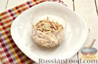 Фото приготовления рецепта: Салат из курицы, с ананасами и кукурузой - шаг №5
