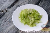 """Фото приготовления рецепта: Салат """"Цезарь"""" классический - шаг №6"""