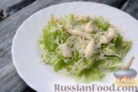 """Фото приготовления рецепта: Салат """"Цезарь"""" классический - шаг №8"""