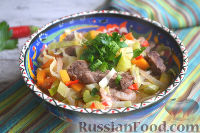 Фото приготовления рецепта: Лагман по-узбекски - шаг №13