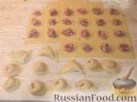 Фото приготовления рецепта: Приготовление теста и формование пельменей - шаг №5