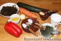 Фото приготовления рецепта: Овощной салат с морской капустой - шаг №1