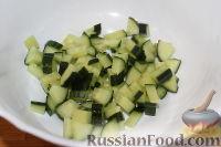 Фото приготовления рецепта: Овощной салат с морской капустой - шаг №2
