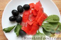 Фото приготовления рецепта: Базовое канапе для фуршета - шаг №5