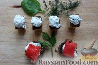 Фото приготовления рецепта: Базовое канапе для фуршета - шаг №6