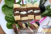 Фото приготовления рецепта: Базовое канапе для фуршета - шаг №8