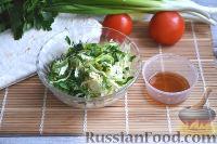 Фото приготовления рецепта: Шаурма с говядиной - шаг №5