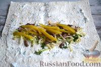 Фото приготовления рецепта: Шаурма с говядиной - шаг №13