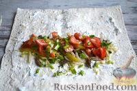 Фото приготовления рецепта: Шаурма с говядиной - шаг №14