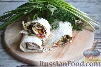 Фото приготовления рецепта: Шаурма с говядиной - шаг №15