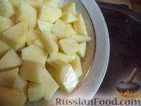 Фото приготовления рецепта: Суп из сушеных грибов с картофелем - шаг №6