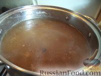 Фото приготовления рецепта: Суп из сушеных грибов с картофелем - шаг №10