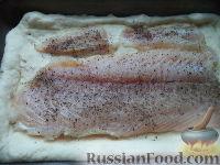Фото приготовления рецепта: Рыбник с луком - шаг №15