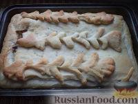 Фото приготовления рецепта: Рыбник с луком - шаг №20