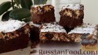 Фото к рецепту: Шоколадно-творожный пирог