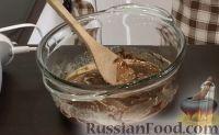 Фото приготовления рецепта: Шоколадно-творожный пирог - шаг №2