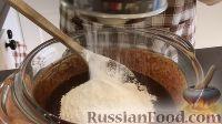 Фото приготовления рецепта: Шоколадно-творожный пирог - шаг №5