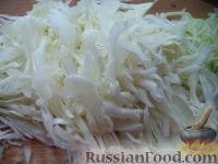 Фото приготовления рецепта: Тушеная капуста с рыбой - шаг №2