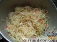 Фото приготовления рецепта: Вареники с капустой - шаг №5