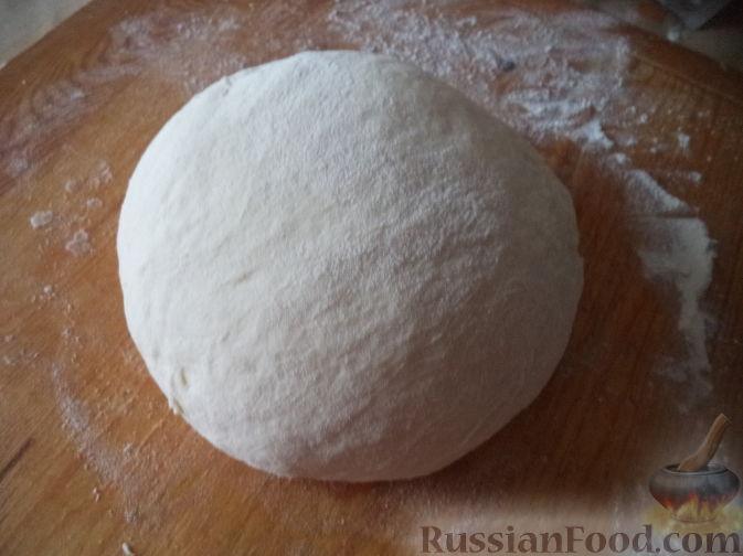 Фото приготовления рецепта: Жареная картошка с курицей и салом - шаг №7
