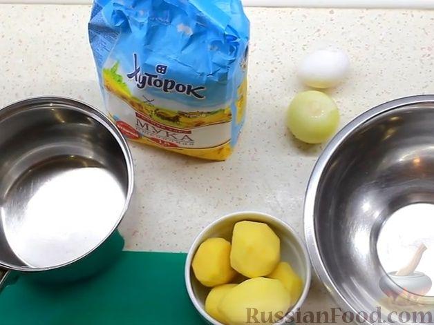 Фото приготовления рецепта: Гороховый суп с копчёной грудинкой и курицей - шаг №15