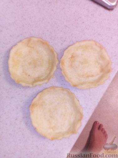 Тесто на тарталетки с пошагово