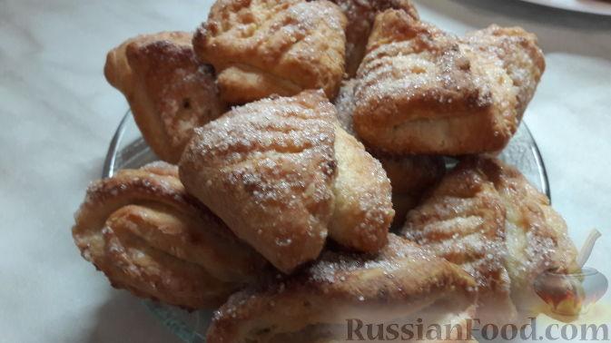 печенье из творога гусиные лапки пошаговый рецепт с фото