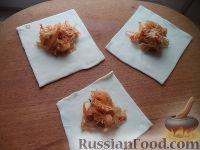 Фото приготовления рецепта: Вареники с капустой - шаг №11