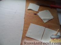 Фото приготовления рецепта: Вареники с капустой - шаг №10