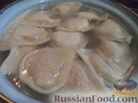 Фото приготовления рецепта: Вареники с капустой - шаг №13